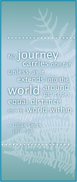Crescent Beach Counselling | Lillian Smith Quote