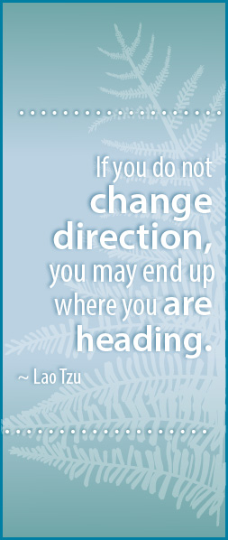 Change Direction Counselling quote